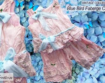 Heirloom Baby dress, Silk Baby Dress Set,  Silk Girls Dress and Pantaloon Set, Girls Birthday Party Dress, Heirloom Girls Dress