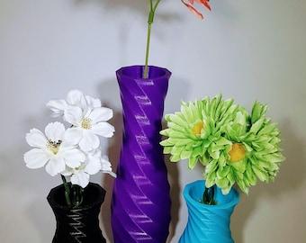 Vase | Modern Vase | Home Decor Vase | Home Decor | Flower Vase | Geometric Vase | 3d Printed | Modern | 3d Printed Vase | Office Vase |
