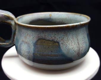 "Stoneware ""Gotland"" Cappuccino Mug"