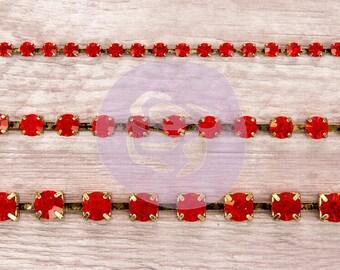 Prima Bohemian Jewels -Ruby