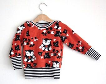 Kids Top Boys Girls Baby Long-Sleeve Top, Baby Top Baby, Girls Top, Boys Top, Kids Top, Organic Clothes