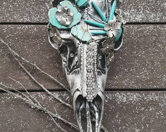 Faux Deer Skull