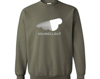 SOUNDCLOUT Music Industry Crewneck Sweater