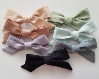 Large Schoolgirl Bows - Spring collection