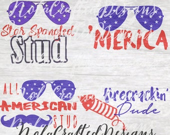 4th of July SVG Pack - Fourth of July SVG Pack - Boys 4th of July SVG Pack - Boys