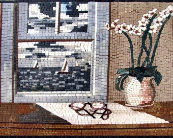 Natural Scene Marble Mosaic Art