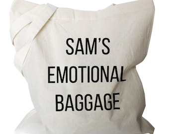 Personalized Tote Bag, Canvas Tote Bag, Personalised Shopping Bag