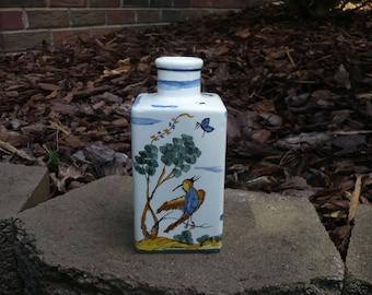 Albisola Bird Vase