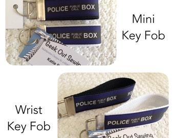 Doctor Who Tardis Key Fob