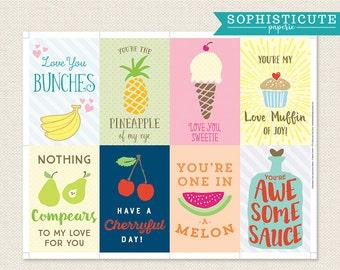 Food Pun Journaling Cards Food Embellishments Card Making
