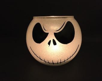 Jack Skellington Candle Holder Halloween Decor