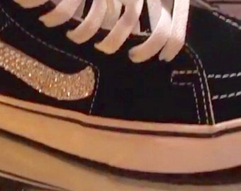Vans Swarovski Old Skool Skate Shoe with Swarovski Crystals