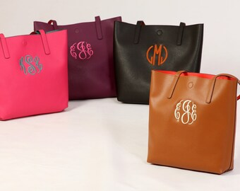 SALE! Monogrammed tote/purse (30 down to 24) .  Only one left!
