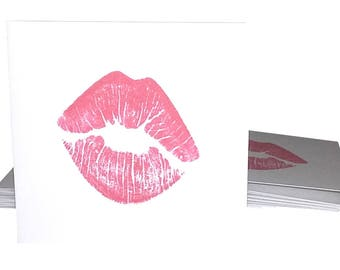 Blank Mini Card Set of 10 / Thank You Cards/ Stationery Card Set/ Mini Card Set/ Mini Cards/ Lunch Box Notes/ Lip Cards