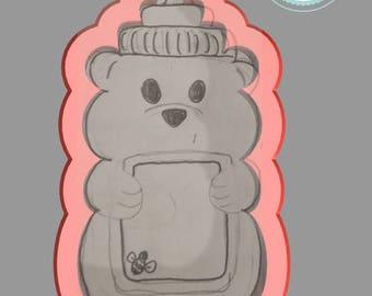 Honey Bottle Cookie Cutter (Bee My Honey)