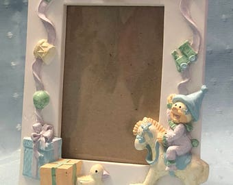 Nursery Clown Picture Frame