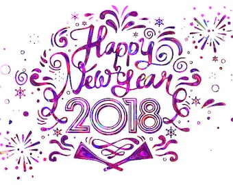 happy new year 2018 new year svg new year pdf new year jpg