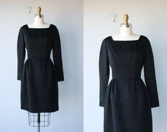 Vintage 60s Dress | Black Cocktail Dress | Vintage 1960s Dress | 60s Cocktail Dress - small