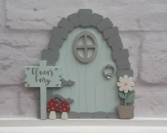 Custom Fairy Door, Kit Fairy Door, Indoor Fairy Door, Childs Fairy Door, Fairy Door Set, Wall Fairy Door, Kids Fairy, Tiny Fairy, Pixie Door