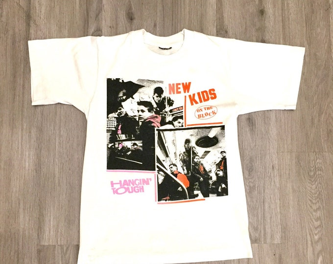 90s New Kids On The Block Band Tee