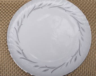 Harmony House Cynthia Wheat Spray Pattern Round Chop Plate - Round Platter