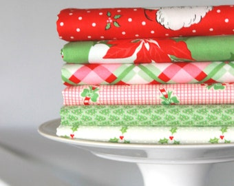 Swell Christmas by Urban Chiks for Moda ~ 6 Fat Quarter Bundle