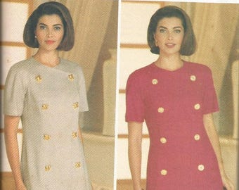 Butterick 6572 Ronnie Heller Dress Pattern SZ 12-16