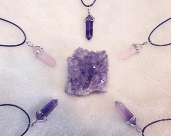 Crystal Chakra Necklaces