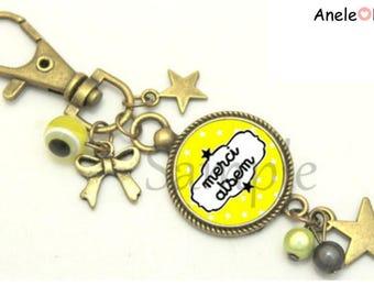 Keychain gift for school bag charm