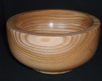 hand turned red elm wooden bowl for stash and change..