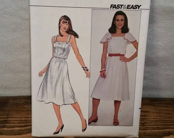 Patten Dress Butterick 4332 Summer dress pattern