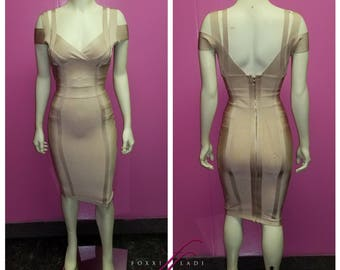 Creamsicle Bandage Dress