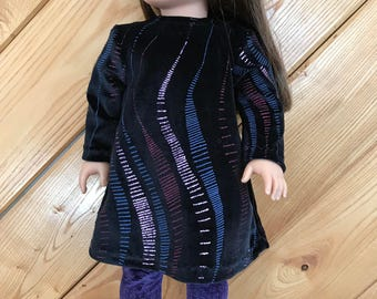"18"" doll Tunic Leggings"