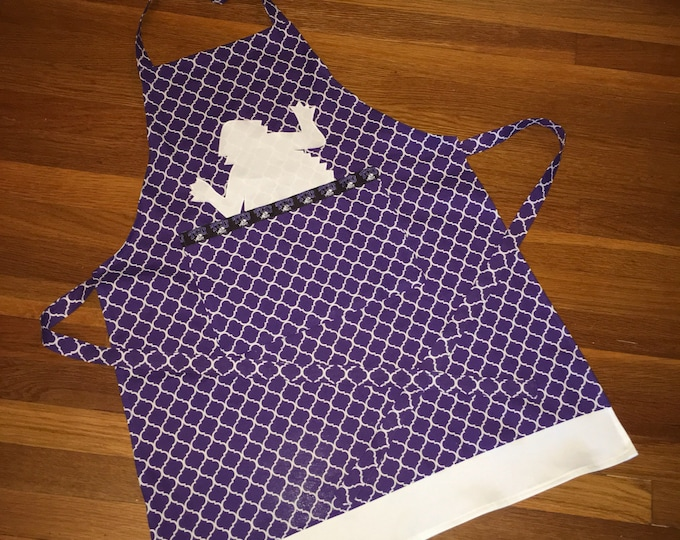 TCU Peekaboo Horned Frog Apron TCU Kitchen