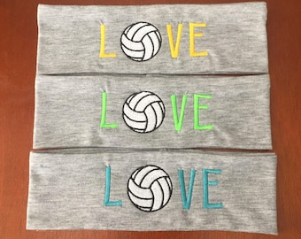ONE Volleyball Headband, Volleyball Band, Volleyball Head band, Volleyball Sports Band, Team Spirit, Volleyball Love, Volleyball Players