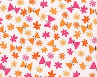 Acorn Forest Sweet Cotton Fabric - Robert Kaufman Fabrics