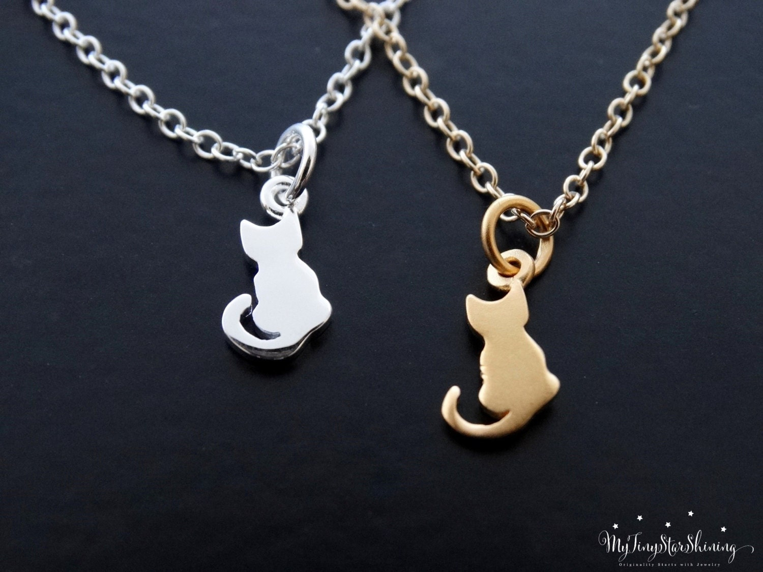 Cat necklace silver cat jewelry pet lover necklace cat pendant cat necklace silver cat jewelry pet lover necklace cat pendant necklace gold cat gold filled necklace or sterling silver aloadofball Gallery