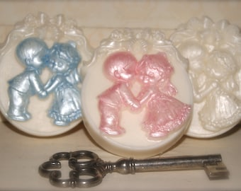 Baby Bride & Groom Soap (Oval)