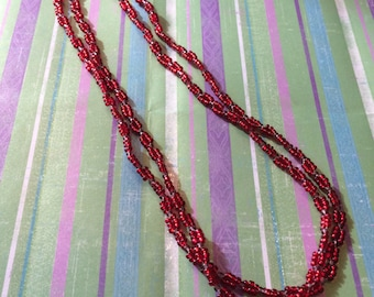Red Hat Society Necklace