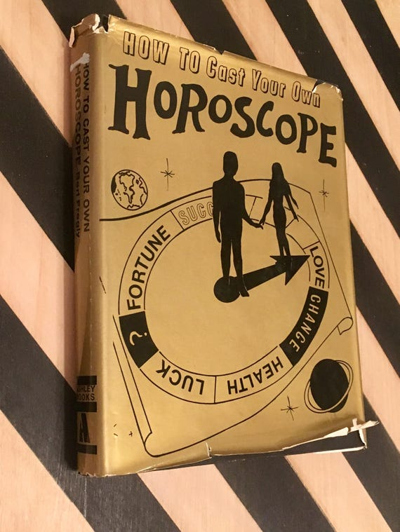 How to Cast Your Own Horoscope by Bert Fregly (Hardcover, 1976) vintage book