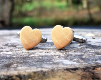Wood cufflinks,salvagd wood, cuff links,shirt accessories,groom,groomsman,bestman,father,fathers day,boyfriend,dad,husband,man gift