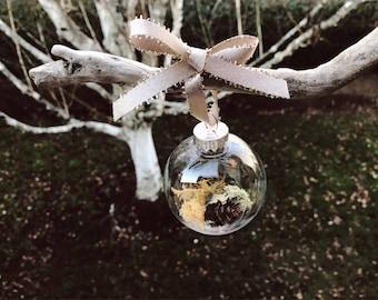 terrarium ornament || PNW themed || ready to ship ||