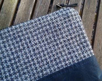 Handwoven Tweed Purse