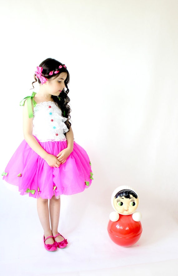 items similar to childs pink lalaloopsy costume baby tutu dress toddler dress on etsy