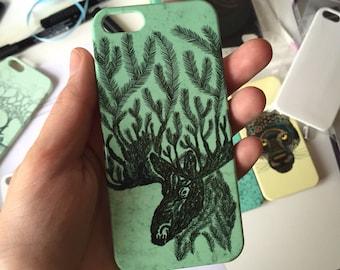 Moose phone case // Animal phone case // iPhone X / 8 / 8 Plus / 7 / 7 Plus / 6 / 6S / SE / 5 / 5S // Samsung G. S9/S7/S6/S6 Edge/S5