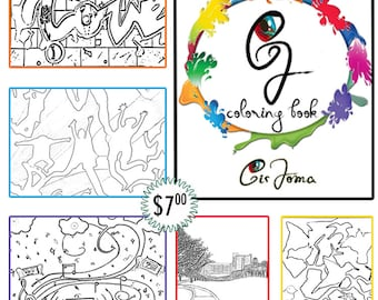 Cir Joma Coloring Book