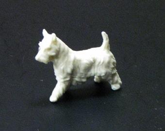 1:25 G scale model resin Schnauzer dog figure