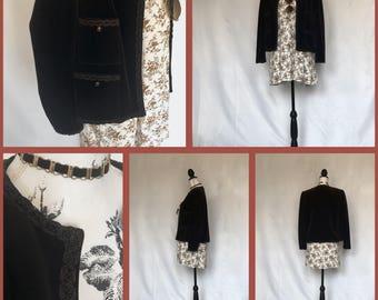 Velvet Pocket Jacket
