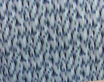 Blue Cotton Fabric, Cotton Quilting Fabric, Blue Material, Quilting Cotton - 1 1/4 Yard - CFL1345