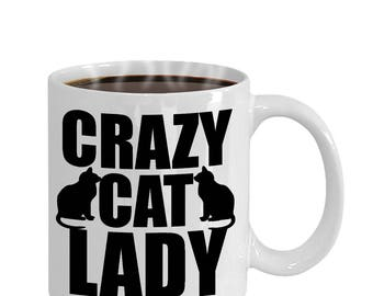 Crazy Cat Lady Cat Lovers Gift Mug